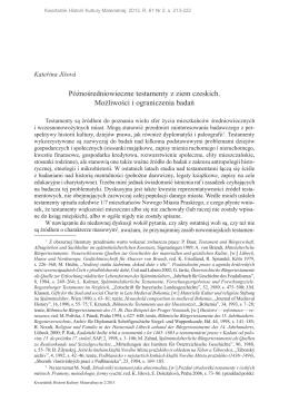 Kwartalnik Historii Kultury Materialnej R. 61 Nr 2 (2013