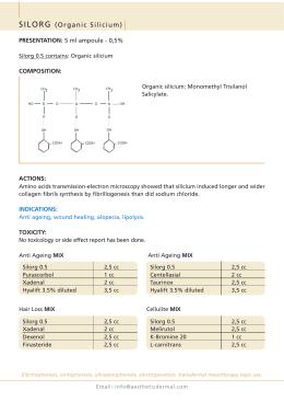 SILORG (Organic Silicium)