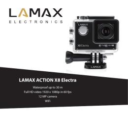 Instrukcja obsługi - LAMAX Electronics