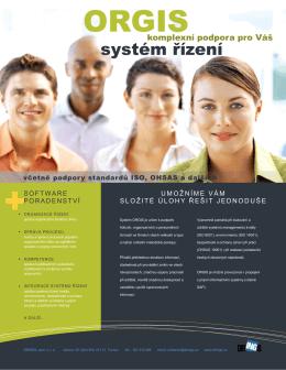 ORGIS - IS pro organizaci řízení