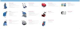 průmyslové vysavače vysokotlaké čističe jednokotoučové stroje