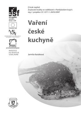 Vaření české kuchyně - Labská hotelová střední odborná škola a
