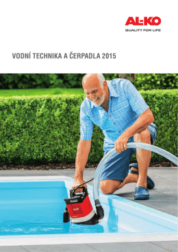 VODNÍ TECHNIKA A ČERPADLA 2015 - AL-KO