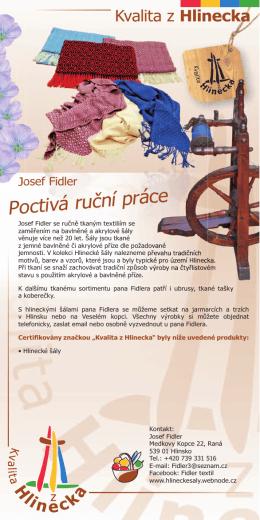 letáček v PDF - MAS Hlinecko