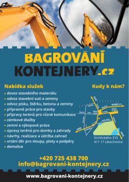 +420 725 438 700 info@bagrovani