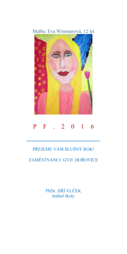 Malba: Eva Wimmerová, 12 let
