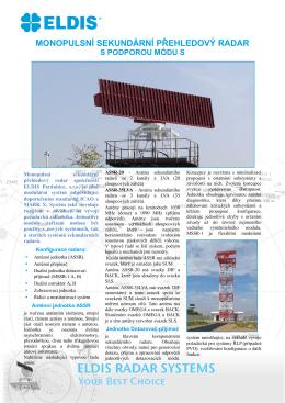 MSSR-1 Sekundární Přehledový Radar