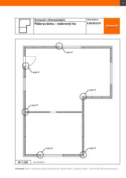 Dřevostavby - katalog konstrukčních detailů fermacell