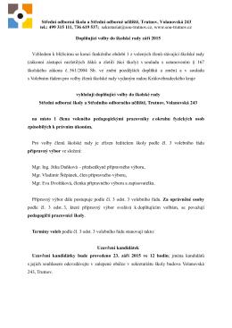 zde - Střední odborná škola a Střední odborné učiliště Trutnov