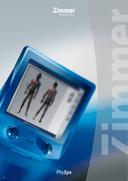 Prospekt přístrojů Physys (, 0,8 MB)