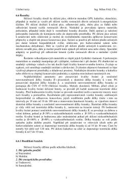 Učební texty Ing. Milan Fríd, CSc. 1 6.6 Řezačky Sklízecí řezačky