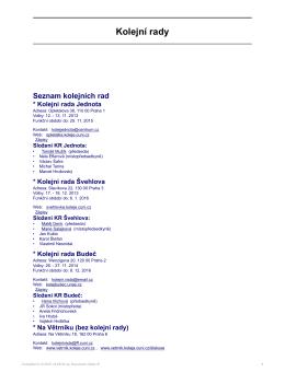 ve formátu PDF - Grémium předsedů kolejních rad