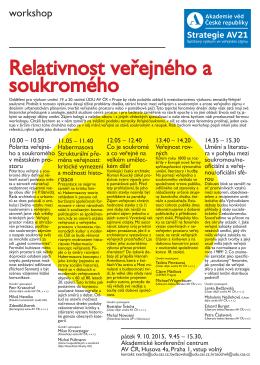 workshop - Ústav dějin umění AV ČR, v.v.i.