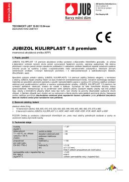 10021204-JUBIZOL KULIRPLAST 18 PREMIUM-TL-CZE-2015-02-18