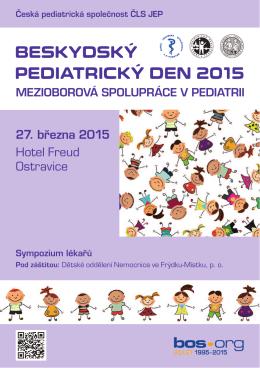 BeskydskÝ pediatrickÝ deN 2015