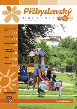 Přibyslavský občasník červenec 2015