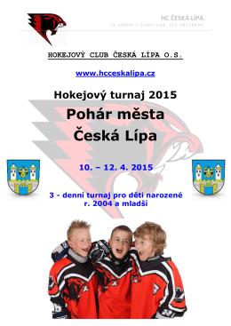 Hokejový turnaj 2015 - Česká Lípa