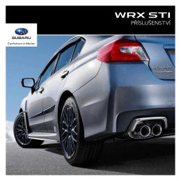 Katalog příslušenství WRX STI
