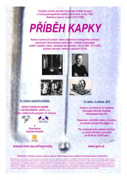PŘÍBĚH KAPKY - Akademie věd ČR