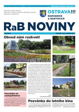 srpeN 2015 - Radvanice a Bartovice