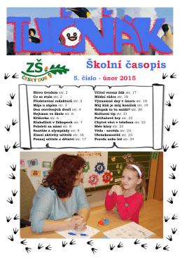5. číslo - ÚNOR 2015