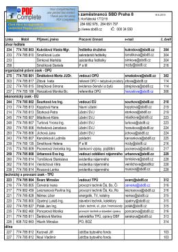 telefonní seznam 2015