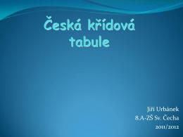 Česká křídová tabule - Základní škola Sv. Čecha, Choceň