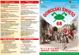 31. 7.–1. 8.–2. 8. 2015 Jabłonków – Jablunkov