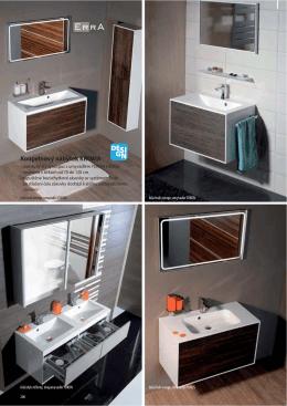 Koupelnový nábytek KROMA - Koupelnový nábytek ERRA