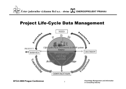 Project Life-Cycle Data Management