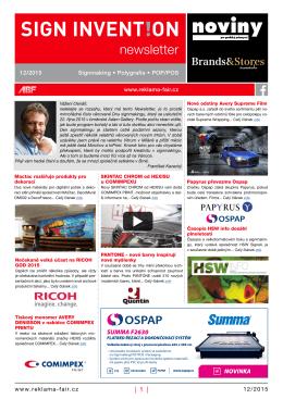 Newsletter 12/15