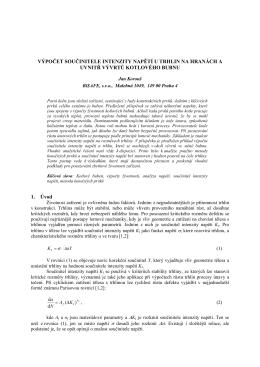 Predikce životnosti přehřívákových systémů na základě