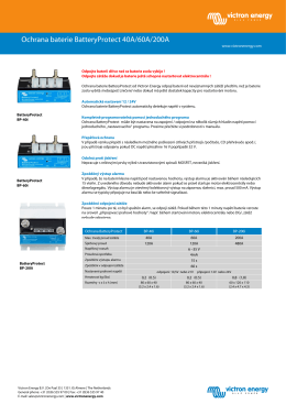 Datasheet - Battery Protect - rev 01