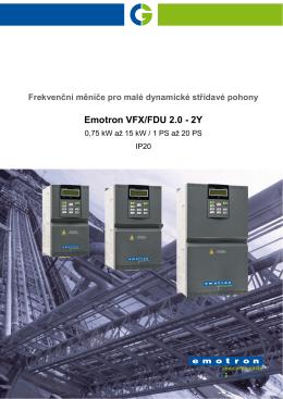 Emotron VFX/FDU 2.0 - 2Y
