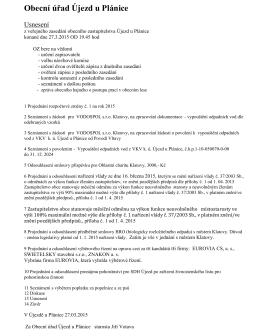 Obecní úřad Újezd u Plánice