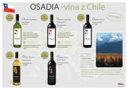 OSADIA -vína z Chile