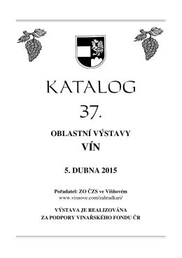Katalog vín zde
