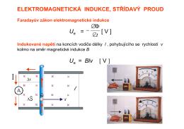 13 Elektromagnetická indukce