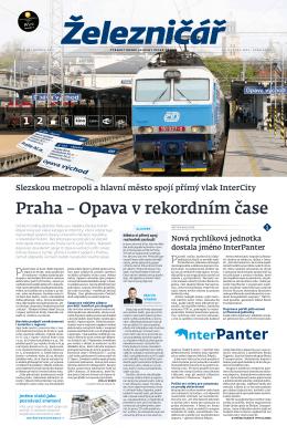 Praha – Opava v rekordním čase