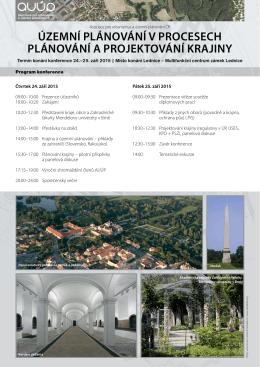 Pozvánka - Asociace pro urbanismus a územní plánování