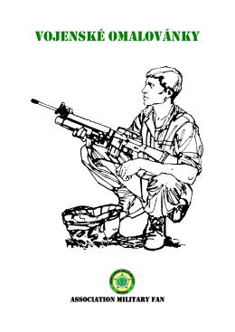 Vojenské Omalovánky - KIDS ARMY