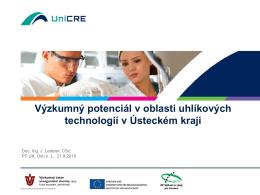Potenciál vědy, výzkum a inovací v ÚK_Jaromír Lederer_UniCRE