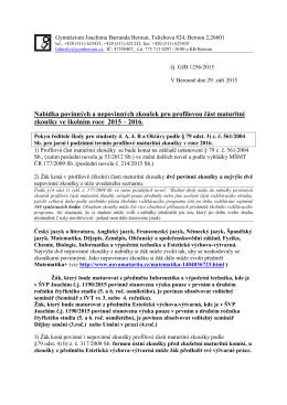 pdf, 254kB - Gymnázium Beroun