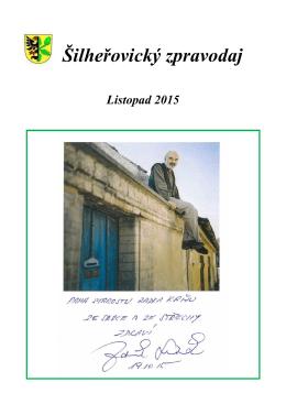 Zpravodaj Listopad 2015