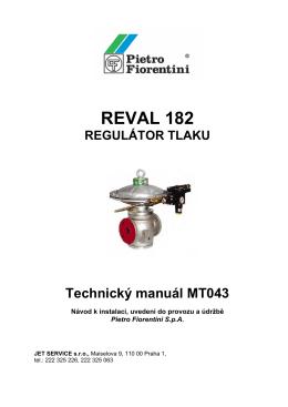 Regulátor REVAL 182