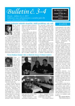 Bulletin 3-4/2015