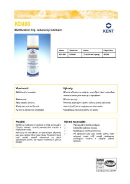 Multifunkční čirý, nebarvený lubrikant Vlastnosti Výhody Použití - N-tek