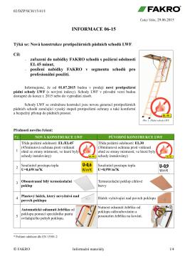 pdf Nová kostrukce protipožárních půdních schodů LWF