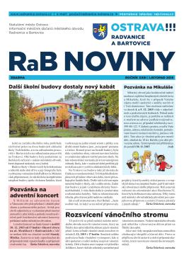 listopad 2015 - Radvanice a Bartovice