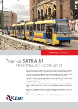 Tramvaj SATRA III